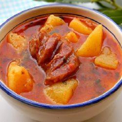 Картофельное рагу с овощами рецепт