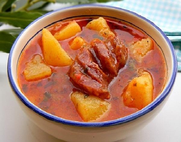 Рагу с картошкой рецепт