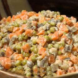 Рецепт вкусного салата с морковью