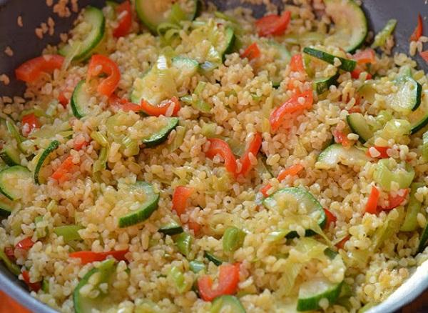 Булгур рецепты с мясом и овощами