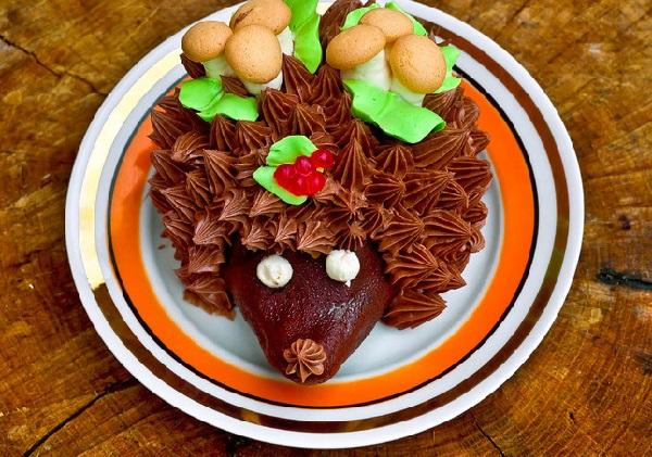 Торт ежик